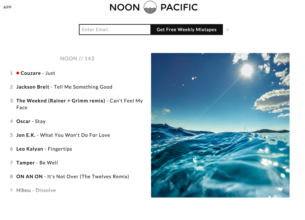 Noon_Pacific___Weekly_Handpicked_Music_Mixtape